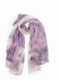 Silk and Cashmere Fular Lila
